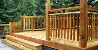 Profesional Deck and Fence Builder