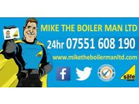 GAS SAFE HEATING AND PLUMBING ENGINEERS MIKE THE BOILER MAN LTD