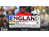 India v England Bristol T20 8th July (Sunday)