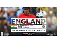 England v India T20 Tickets x 2 - Sunday 8 July 2018