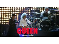 2 x QUEEN ON STAGE VIP EXPERIENCE CONCERT TICKETS MANCHESTER 9TH DECEMBER 2017