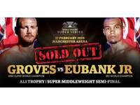 GROVES VS EUBANK JR WORLD BOXING SUPER SERIES SEMI-FINAL