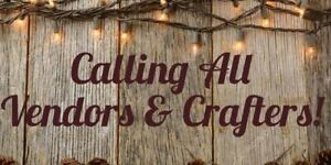 Vendors wanted for Spring gift & craft show, April 2020