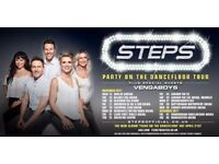2 x Steps Tickets 23rd Nov Brighton Centre