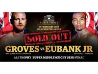 GROVES VS EUBANK JR WORLD BOXING SUPER SERIES SEMI-FINAL