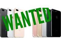 WANTED / IPHONE X 8 7 PLUS 6S SAMSUNG GALAXY NOTE S8 S9 MACBOOK IPAD LAPTOP SURAFACE PRO