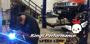 Manitoba's Speed Shop. KINGS PERFORMANCE SPEED SHOP