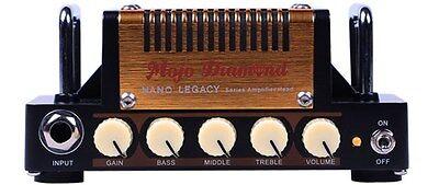 Hotone Nano Mojo Diamond Nano Legacy Series 5W Micro Guitar Amplifier Head Demo