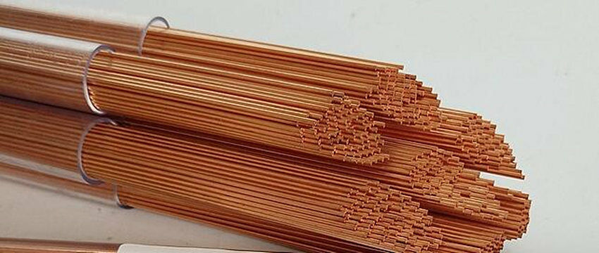 0.30 mm OD X 400 mm L 20 Pcs//Pack Copper EDM Electrode Tubing Single Hole Size