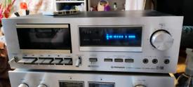 Vintage Pioneer CTF600 tape deck