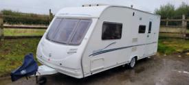2007 model Sterling Eccles 4 berth caravan