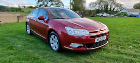2009 CITROEN C5 2.0 DIESEL AUTOMATIC EXCLUSIVE MOTED TO OCTOBER 2022