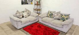 DFS - 3&2 Seater Sofa Set