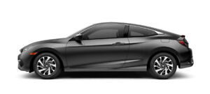 2017 Honda Civic EX-Turbo HS black - lease takeover/transfer