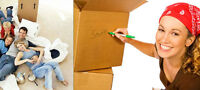 $55 for truck & 2men!!!CALL 514-839-5512!!!RELIABLE MOVERS