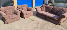 FREE 3 seater and two chairs DFS