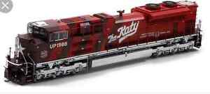 UNION PACIFIC SD70M-2 HO SCALE