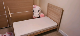 Mothercare Cot Bed and memory spring matress