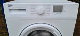 White Beko washing machine _ free delivery