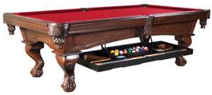 9', 12', 14' SHUFFLEBOARDS & 4 x 8' / 4.5 x 9' BILLIARD TABLES