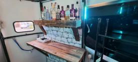 Gin bar / catering trailer