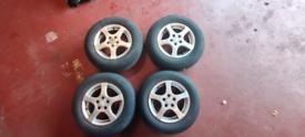 VW mk4 golf alloy wheels