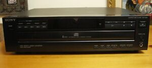 TECHNICS RECEIVER AND SONY 5 CD DISC CHANGER