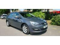 VAUXHALL ASTRA 1.6 16V 2014 DESIGN COMPLETE WITH M.O.T HPI CLEAR INC WARRANTY