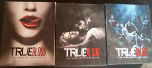True Blood season 1-3 on BluRay (used)