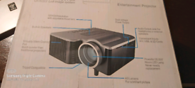New projector with soft ware