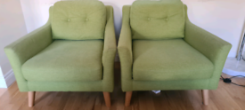 2 used Rufus armchair for sale
