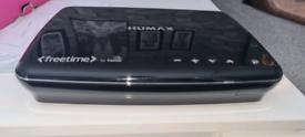 HUMAX Freetime Freesat recordable set top box