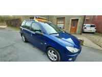 2007 Peugeot 206 1.6 HDi Verve 5dr ESTATE Diesel Manual