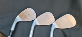 3 Cleveland Wedges. 50, 52 and 52. 2 Unsed and 1 Barely Used