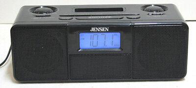 JENSEN JiMS 100 Alarm Clock Radio Ipod Docking  and AUX Inputs Perfect and MINT Jensen Ipod Clock Radio