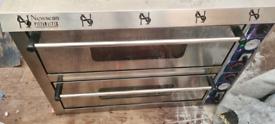 Pizza double oven + comercial fridge + nan bread machine