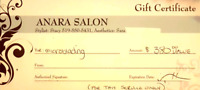 Gift certificate for microblading in Brantford. Worth $380