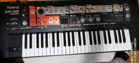 Roland SH 201 analogue modelling Synth