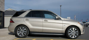 2012 Mercedes-Benz M-Class ML 550 SUV, Crossover
