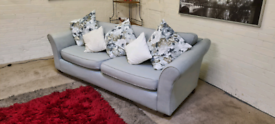 M&S - Teal Fabric 4 Seater Sofa & Cussions - Only £149!!