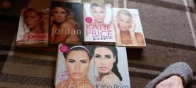 Complete set of Katie Price books