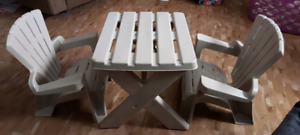 children table and chairs 2