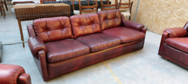 Gimson & Slater suite.3 seater and 2 Armchair