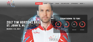 **THE BRIER - GOLD AND BRONZE MEDAL GAME* * 4 TICKETS TOGETHER!