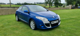 2010 RENAULT MEGANE 1.5 DCI DIESEL COUPE MOTED TO OCTOBER 2022