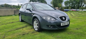 2006 SEAT LEON 1.6 PETROL WITH 76000 MILES AND MOTTO AUGUST 2022