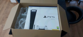 PS5 disc version BNIB sealed.