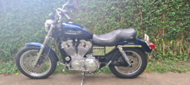 Harley Davidson sportster 883 swap