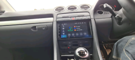 Android incar media player double din audi a4 seat exeo may Swap