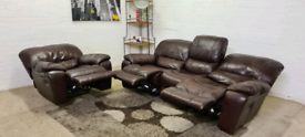 LazBoy 3 Seater Electric Recliner & Armchair Full Sofa Set